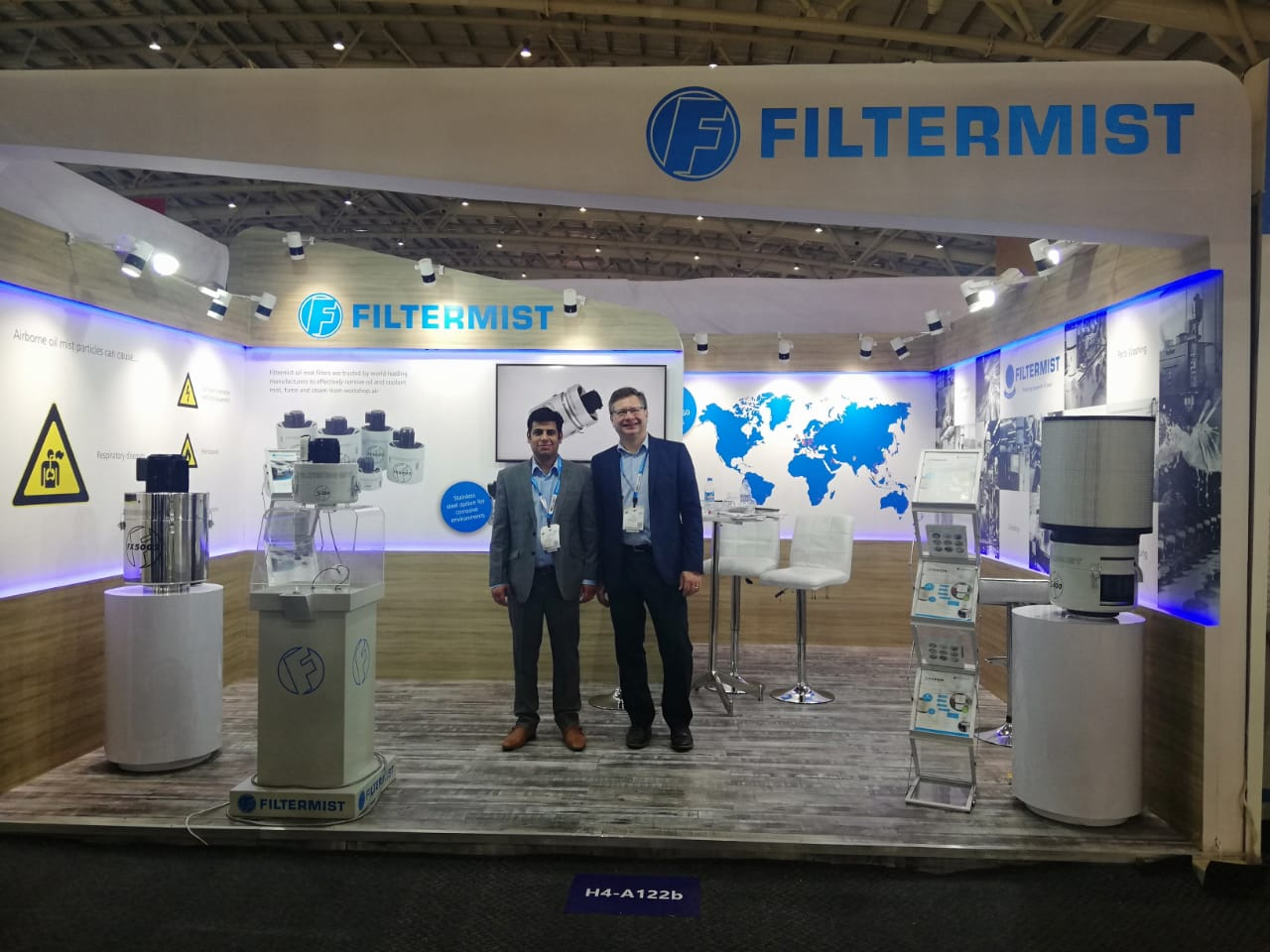 IMTEX proves profitable for Filtermist